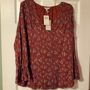 Lucky Brand top. NWT
